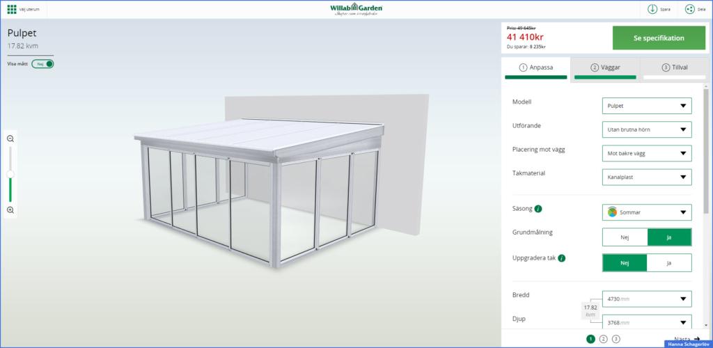 Näin rakennat lasiterassisi – 3D:nä!