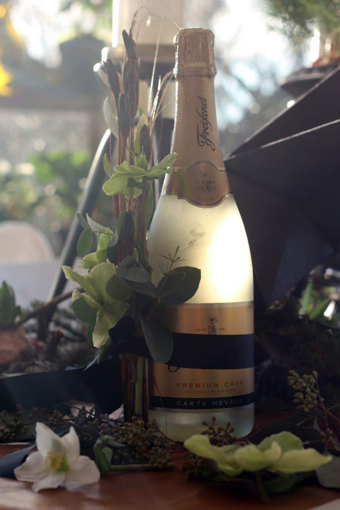 Uudenvuodenvinkki – pullokoriste viemisiksi juhliin!