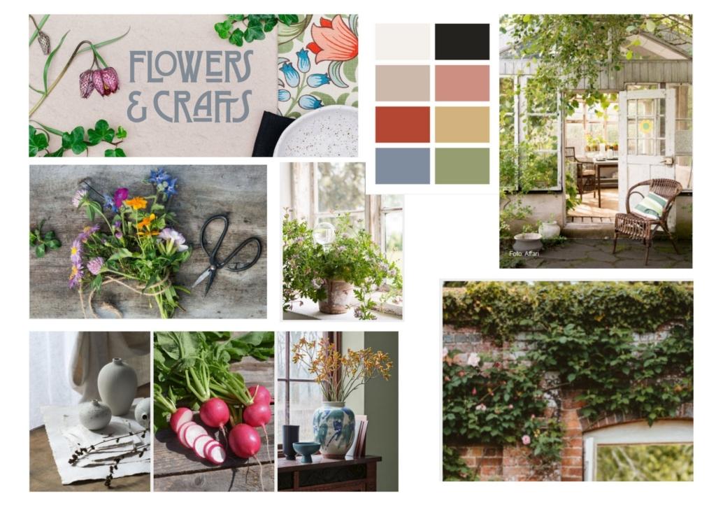 Kuvat Elmia Garden trends, kollaasi Hanna Schagerlöv