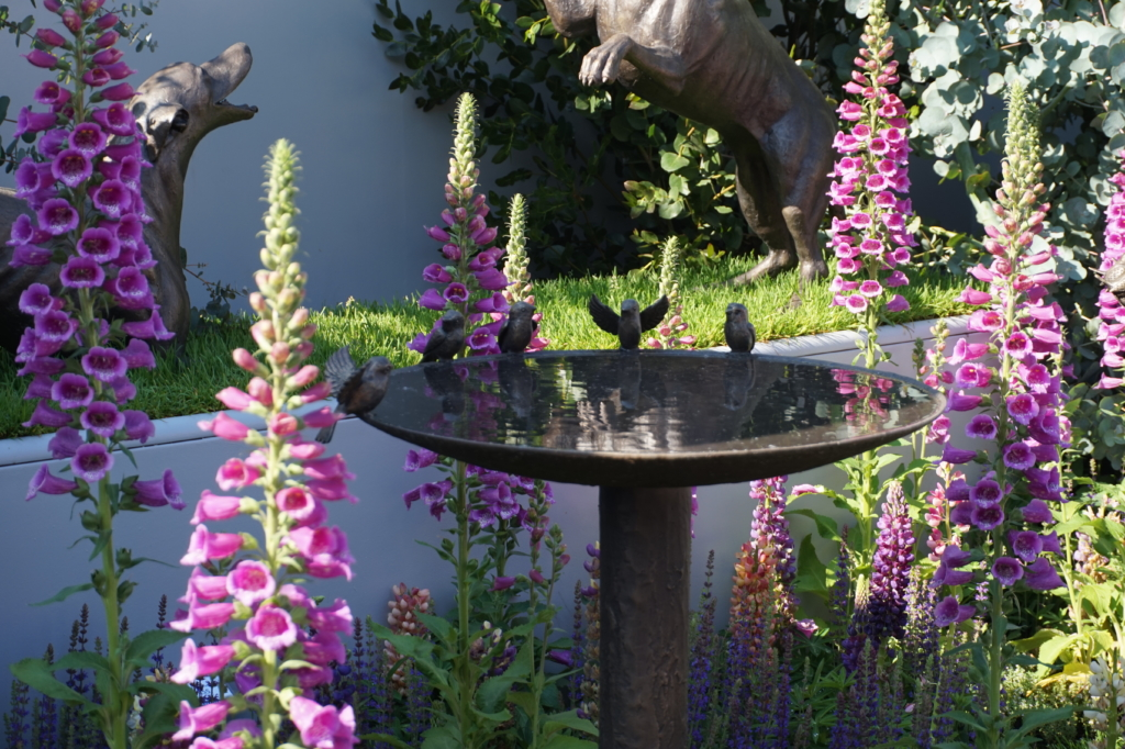 Kuukauden sisustusvinkki - vesi puutarhassa